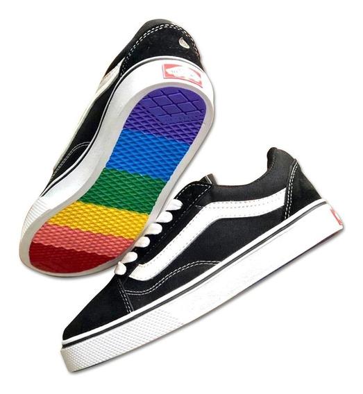 Zapatos Vans Old Skool Para Ellas Deportivos Moda