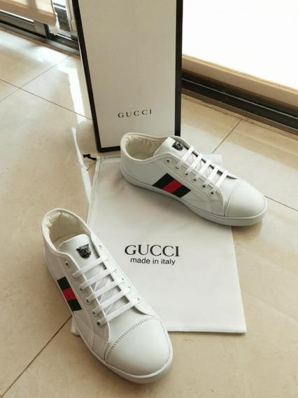 Tenis Gucci adidas Advantage Hu Casual Hombre Envio Gratis