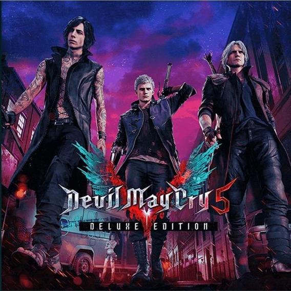 Devil May Cry 5 Deluxe Edition Key Codigo Steam
