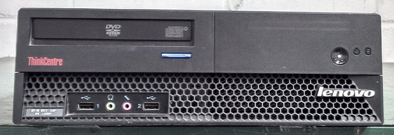Computador Lenovo Core 2 Duo 2gb Mem Ddr2; 160 Gb Hd Frete