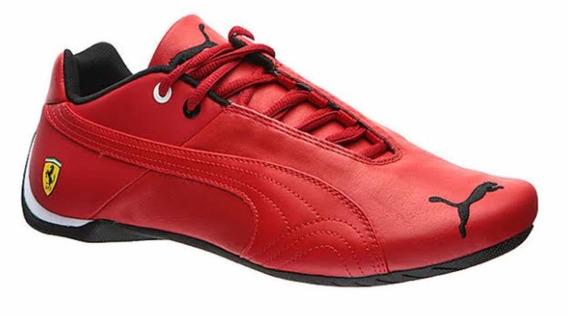 Tenis Puma Ferrari Rojo (piel Vacuno) Varias Tallas