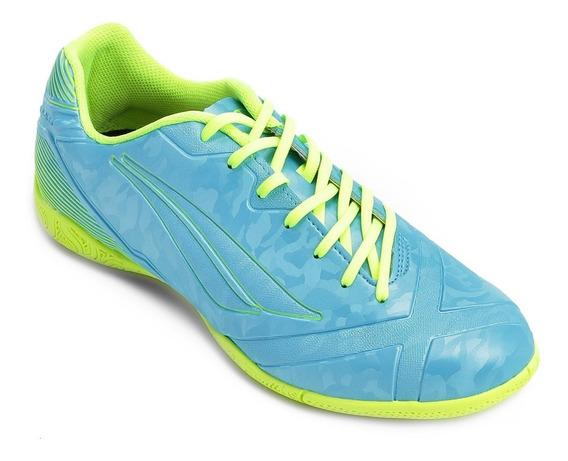 Tenis Penalty Futsal Victoria Rx 8 Adulto Azul Envio Imediat