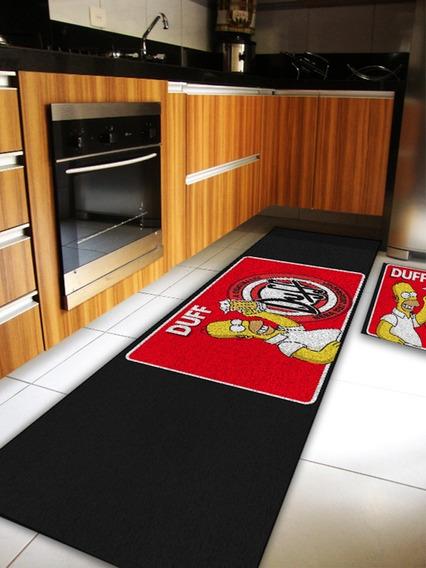 Capacho Jogo De Cozinha Homer Simpsons Duff Cd2051