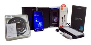 Kit Samsung Galaxy S9+ 6gb Ram 64 Gb Negro + Regalos!!!
