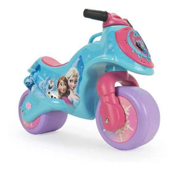 Corre Pasillos Moto Infantil Neox Injusa Frozen Niña Paseo