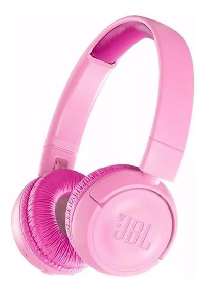 Fone de ouvido JBL JR300BT punky pink