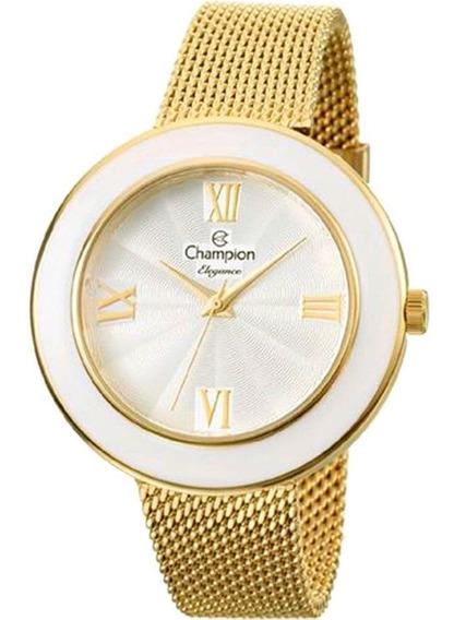 Relógio Feminino Champion Cn27385h Barato Original Garantia