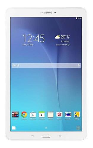 "Tablet  Samsung Galaxy Tab E 2015 SM-T560 9.6"" 8GB white con memoria RAM 1.5GB"