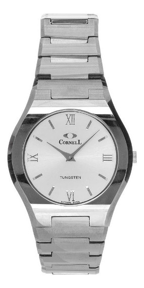 Reloj Cornell Swiss 1870 Sumergible Cr-8101.1wsr, Tugsteno