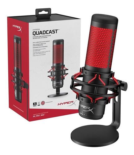 Microfono Gamer Condensador Usb Profesional Quadcast Stream