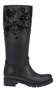Galocha Melissa Flower Boot High