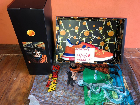 adidas X Dragonball Z Son Goku Zx 500 Rm - 41 Br Novo