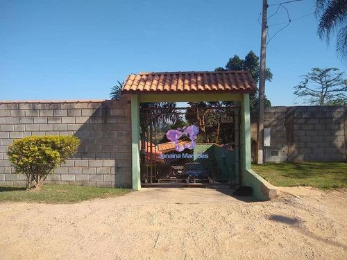 Imagem 1 de 25 de Chácara Com 2 Dormitórios À Venda, 1336 M² Por R$ 490.000,00 - Meirelles - Araçariguama/sp - Ch0148