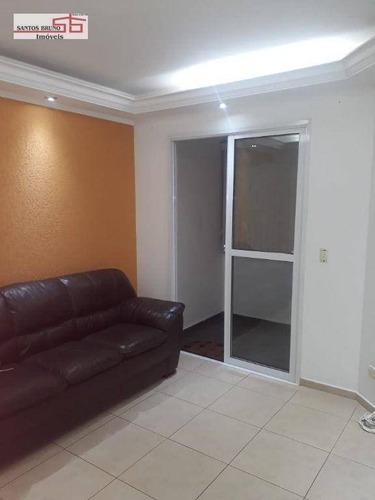 Imagem 1 de 30 de Apartamento Com 2 Dormitórios Para Alugar, 50 M² Por R$ 1.400,00/mês - Freguesia Do Ó - São Paulo/sp - Ap4166