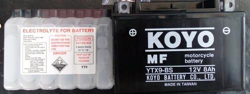 Batería Koyo Ytx9-bs, Envios