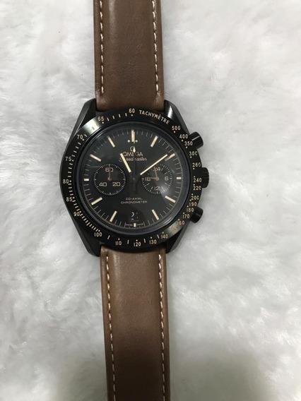 Relógio Omega Sea Master - Pulseira De Couro