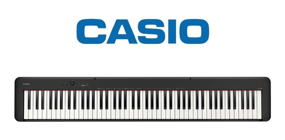Piano Casio Stage Digital Preto Cdp-s100bkcs-br