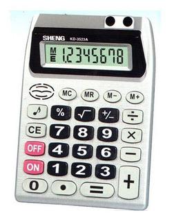 Calculadora Eletrônica 8 Digitos De Mesa