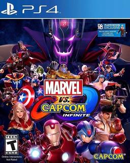 Marvel Vs Capcom Infinite Ps4 Digital Juega Con Tu Usuario