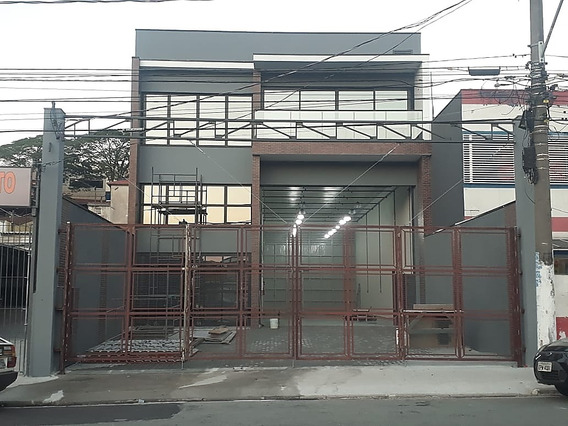 Ref.: 7008 - Prédio Comercial Com 02 Salão Parque Novo Oratório, Santo André - 60566758