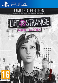 Life Is Strange Before The Storm Limited Edition Nuevo Sella