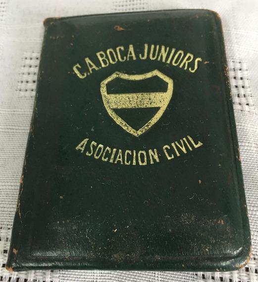 Boca Juniors- Antiguo Carnet- Año 1948-
