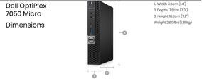 Dell Optplex 7050 Core I5 6° Geração