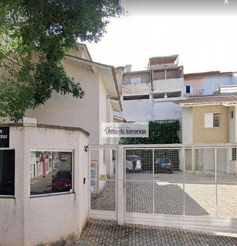 Sobrado Com 2 Dormitórios À Venda, 65 M² Jardim Santa Emília - São Paulo/sp - So1152