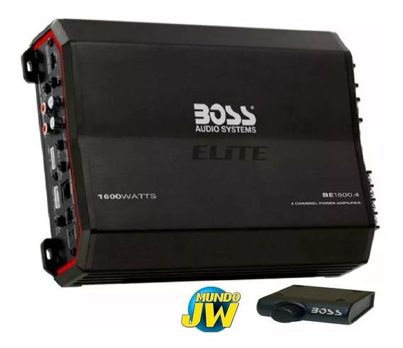 Potencia Boss Elite 1600 W 4 Canales 1600 W New 2019