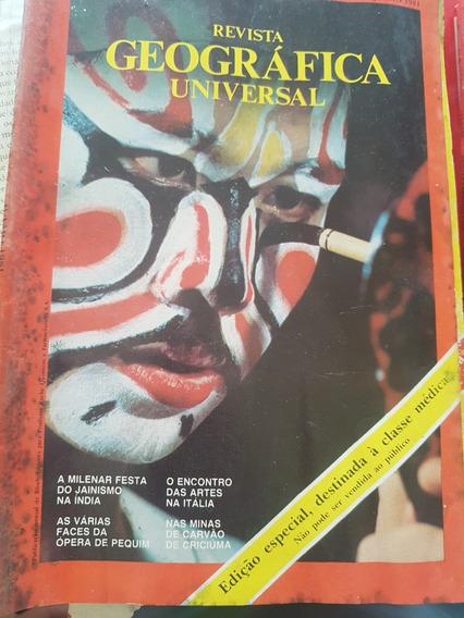 Coleção Revistas Geográfica Universal - 10 Exemplares