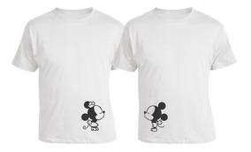 Kit Casal Com Estampa Personalizada Mickey E Minie Namorados