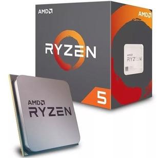 Procesador Amd Ryzen 5 2600 Con Wraith Stealth Cooler