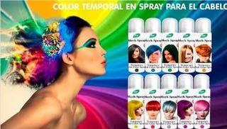 Tinte En Sprays Fantasia De Color Temporal Lavable