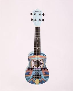 Ukelele Soprano De Mader De Diseño Bamboo Bd-21