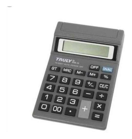 Calculadora Truly 806-10 10 Dígitos Envio Imediato