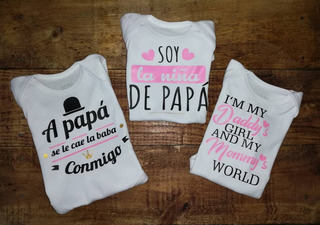 Bodys Para Bebés Personalizados