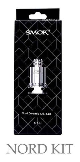 5x Resistência Coil Nord 1.4ohm Ceramica