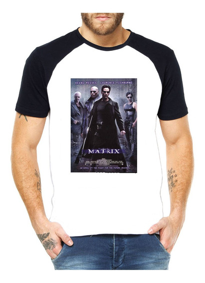 Camiseta Raglan Matrix Capa