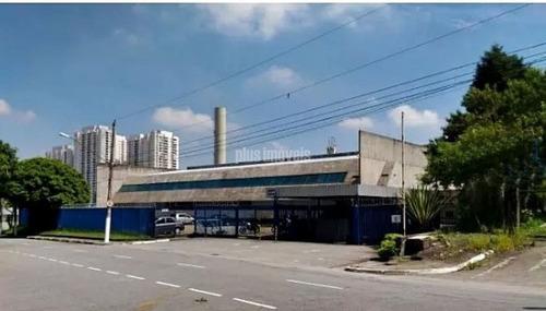 Imóvel Para Investidor  -  Galpão Em São Bernardo Do Campo 14.700,0m² Área Útil E 22.177,om² Terreno - Pp16016