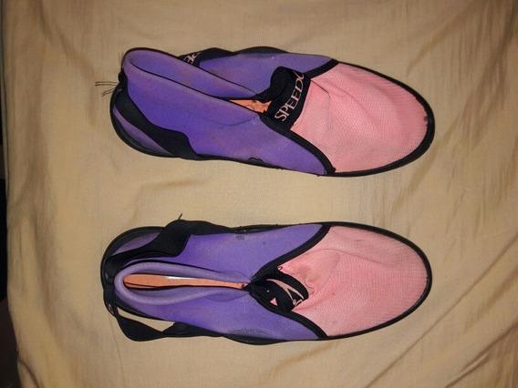 Zapatos De Playa Marca Speedo Para Caballero, Numero 8 (usa)