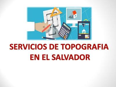 Servicios De Topografía El Salvador