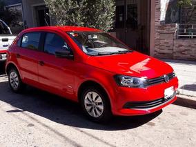 Volkswagen Gol Trend 1.6 , 5ptas 2013 Rojo