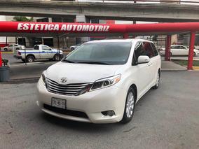 Toyota Sienna 3.5 Limited V6 At 2015 Un Solo Dueño De Agenci
