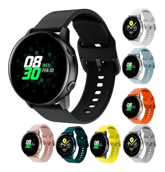 Kit 3 Correas Sport Silicon Colors Para Galaxy Watch Active