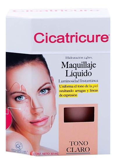 Maquillaje Líquido Cicatricure Claro 30ml Genomma Lab