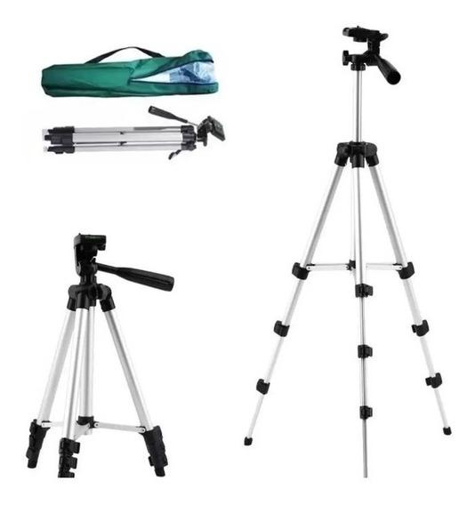 Tripé Universal Telescópico Para Câmera E Celular 1,20 M