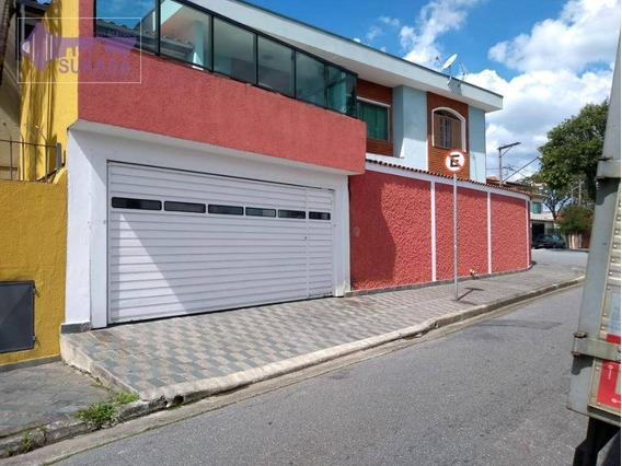 Sobrado À Venda, 294 M² Por R$ 850.000,00 - Jardim São Paulo - São Bernardo Do Campo/sp - So0326