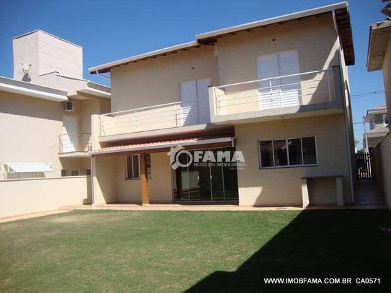 Casa Com 3 Dormitórios Para Alugar, 236 M² Por R$ 3.900,00/mês - Condomínio Metropolitan Park - Paulínia/sp - Ca0571