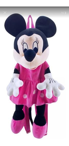 Mochila Pelúcia Minie - Disney
