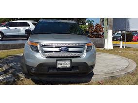 Ford Explorer Xlt V6 2013 Seminuevos